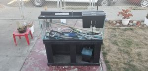 $125 today only! 70 gal Complete fish tank. $175 firm take all today! for Sale in San Leandro, CA