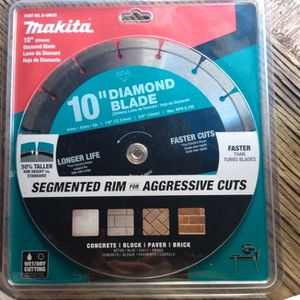 10' Inch Diamond Blade Makita Table Saw Blade for Sale in Chino, CA