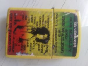 Bob Marley Zippo for Sale in Tacoma, WA