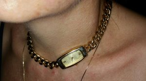 Joan Rivers classics collection Gold watch Necklace for Sale in Mesa, AZ