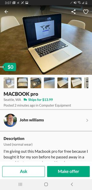 SCAM for Sale in Bothell, WA
