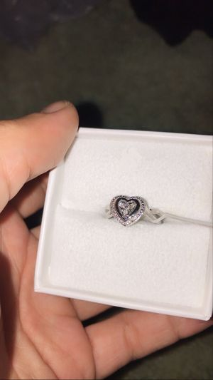 Size 4 Round Cut 1/10 C.T Diamond Ring/ Promise ring for Sale in Philadelphia, PA