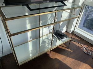 The gold console table for Sale in New York, NY