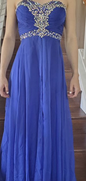 Prom dress size 6 for Sale in Rancho Cucamonga, CA