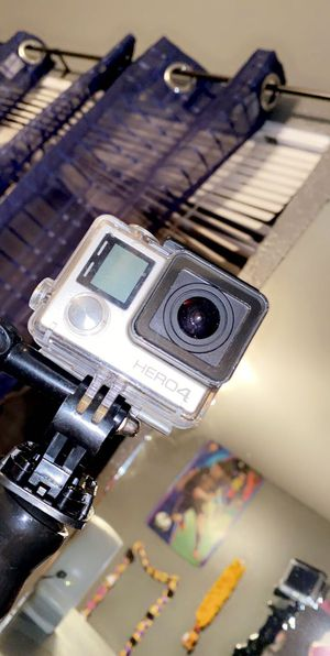 Go Pro Hero 4 with accessories for Sale in Fresno, CA