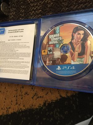 GTA 5 PS4 for Sale in Columbus, OH