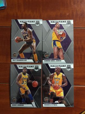 NBA Mosaic Lakers Hall Of Fame Lot for Sale in Stanton, CA