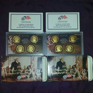2 2007 US Mint Presidential $1 Proof Set for Sale in Antioch, CA