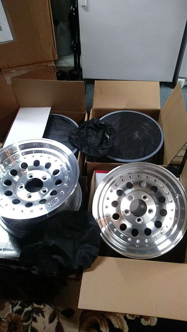 1 set of Ion machined aluminum wheels