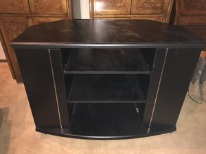 Tv stand with shelves and side storage for Sale in Bow, WA