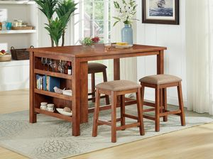 New! 5PC Pub Height Dining Set + FREE DELIVERY for Sale in Columbia, MD