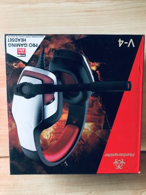Hunter spider v-4 pro gaming headphones for Sale in Modesto, CA