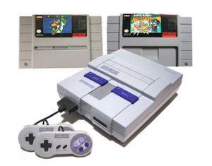 Super Nintendo w/ Mario Collectors Set for Sale in Lakewood, CO