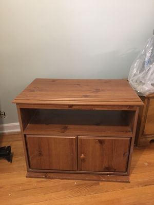 TV swivel stand with storage for Sale in Parma, OH