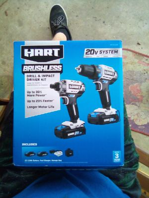 BRAND NEW HART IMPACT DRIVER AND 1/2 IN DRILL for Sale in Raleigh, NC