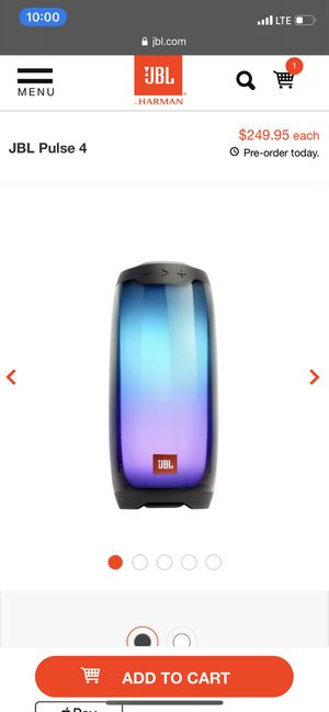 Jbl pulse 4 for Sale in Brooklyn, NY