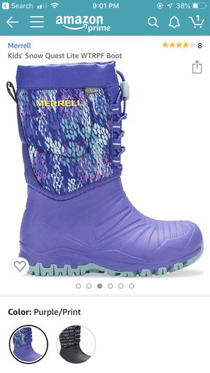 Girls Merrell Winter Boots Size 12 for Sale in Mooresville, NC