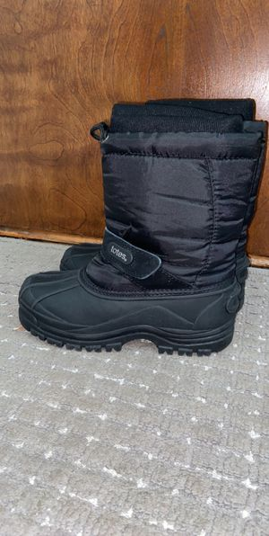 Kids Black Snow/Winter Boots for Sale in Waltham, MA