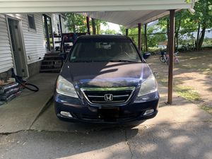 For sale. Honda Odyssey 2005 blue. 6 Cyl. 7 pass. Good condition. Run great. Good on gas. Very convenient for travel. Clean tittle on hand. Asking $ for Sale in Leominster, MA