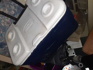 Coleman ice chest on wheels for Sale in Tulsa, OK