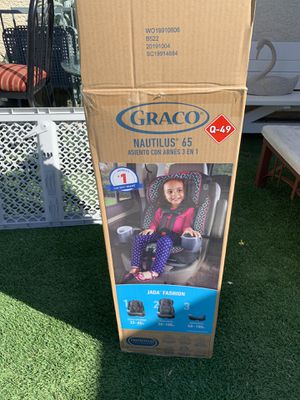 New Graco Nautilus 65 3-in-1 Harness Booster Car Seat MANUFACTURE 2019 $70PRICE IS FIRM ❌❌ PICK UP ONLY for Sale in North Las Vegas, NV