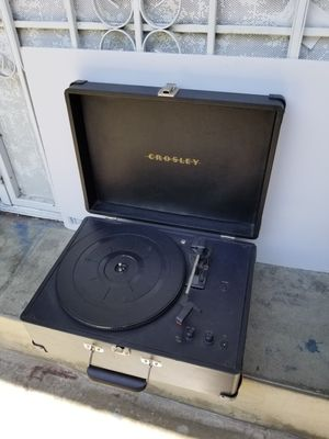 Crosley Cruiser Deluxe 3-Speed Portable Turntable for Sale in Los Angeles, CA