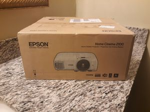 Epson home cinema 2100 for Sale in New Orleans, LA