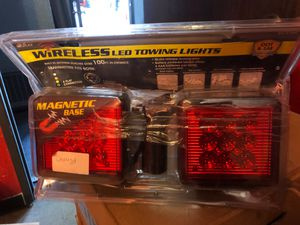 Wireless toeing lights for trailer use mobile home tow truck use for Sale in Bloomington, CA