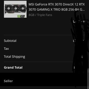 Msi Gaming X Trio 3070 for Sale in Springfield, VA
