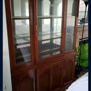 Real Wood Cabinet / Hutch for Sale in Tacoma, WA