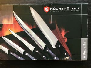 6 pieces knifes set for Sale in Houston, TX