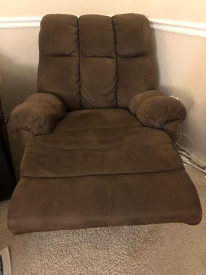 Recliner couch with massager! Taking best offer for Sale in Fremont, CA