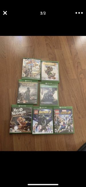 7 Xbox one games in great condition for Sale in Hialeah, FL