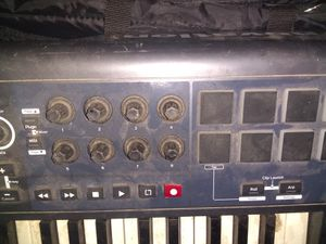 Music gear keyboard mics portable amps (charge and take on the go) for Sale in Denver, CO
