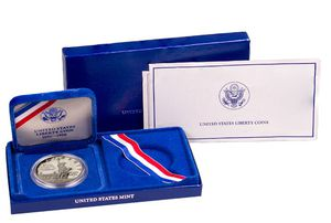 1986 Statue of Liberty Commemorative Silver Dollar GEM Proof Collectible Coin for Sale in Phoenix, AZ
