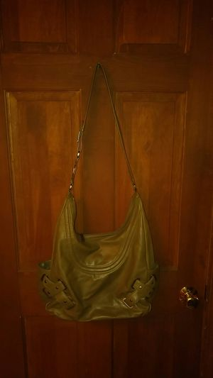 Hobo. Leather Bag. Zipper Closure. Color Olive. Used 1 Season. for Sale in Dedham, MA