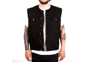 Biltwell Inc. Prime Cut Motorcycle Vest with Collar - Large - Black - Brand New w/o Tags for Sale in Chicago, IL