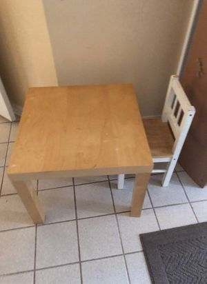 Kids Table and Chair for Sale in Springfield, VA
