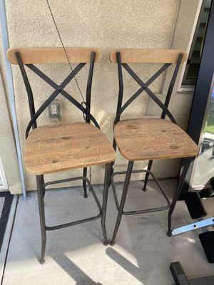 2 barstool chairs - FREE for Sale in Fresno, CA
