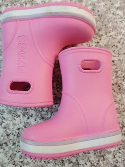 Crocs Rain Boots Toddler Size 6 for Sale in Federal Way,  WA