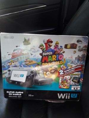 Wii u and 2 games for Sale in Bristol, CT