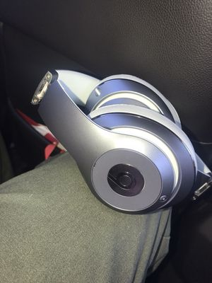 Silver wired beats studios $150 Obo for Sale in Los Angeles, CA