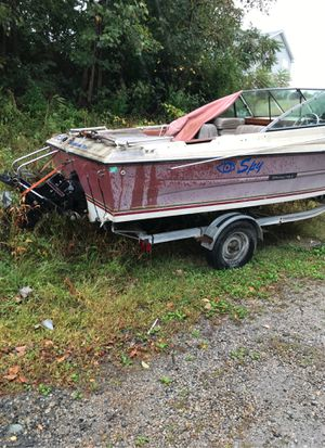 1998 stingray inboard outboard motor great boat trailer and all for Sale in Fall River, MA