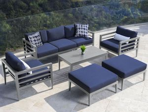 Furniture for the outdoor 7pc seating set by Abbyson Living for Sale in Loxahatchee, FL