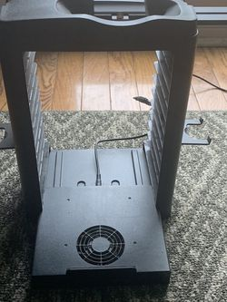 Gaming Organizer: HOLDS: 11 Games, Game System, 2 Headphones,2 Remotes, 2 Remote Chargers for Sale in Clifton,  VA