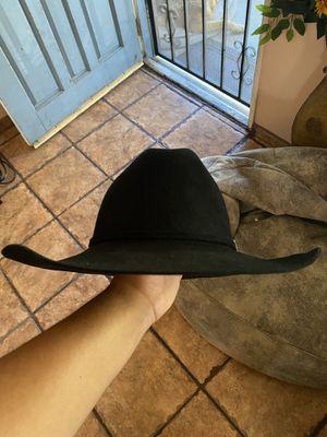Black Stetson Cowboy Hat/Tejana Negra Stetson for Sale in Los Angeles, CA