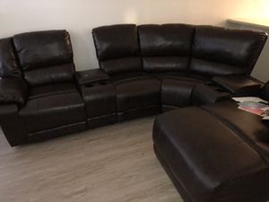 Leather Couch for Sale in Hawthorne, CA