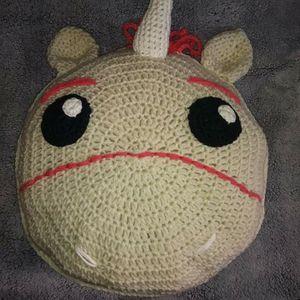 Crochet Unicorn Pillow for Sale in Pico Rivera, CA