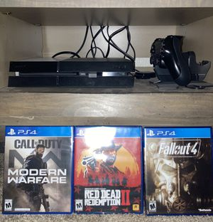 PlayStation 4 PS4 games included make offer for Sale in Ruston, WA