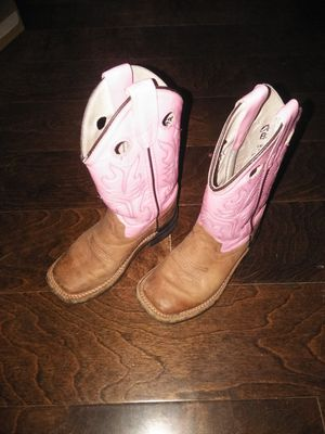Leather little girl boots for Sale in Mesquite, TX